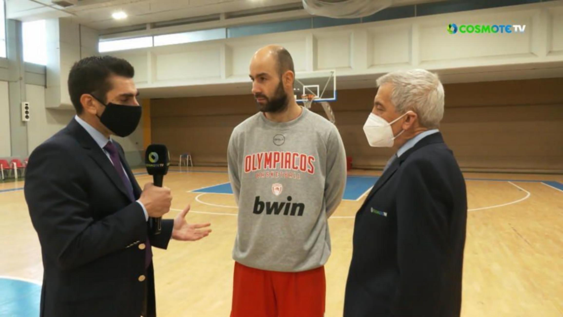 """Σπανούλης για Αντετοκούνμπο: """"Μακάρι να παίζαμε μαζί στην Εθνική Ελλάδας"""" (video)"""