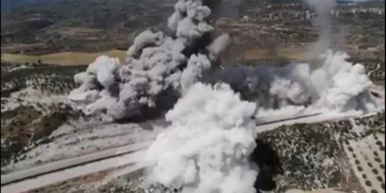 Συρία: Πυρκαγιά μετά από εκρήξεις στο διυλιστήριο της πόλης Χομς