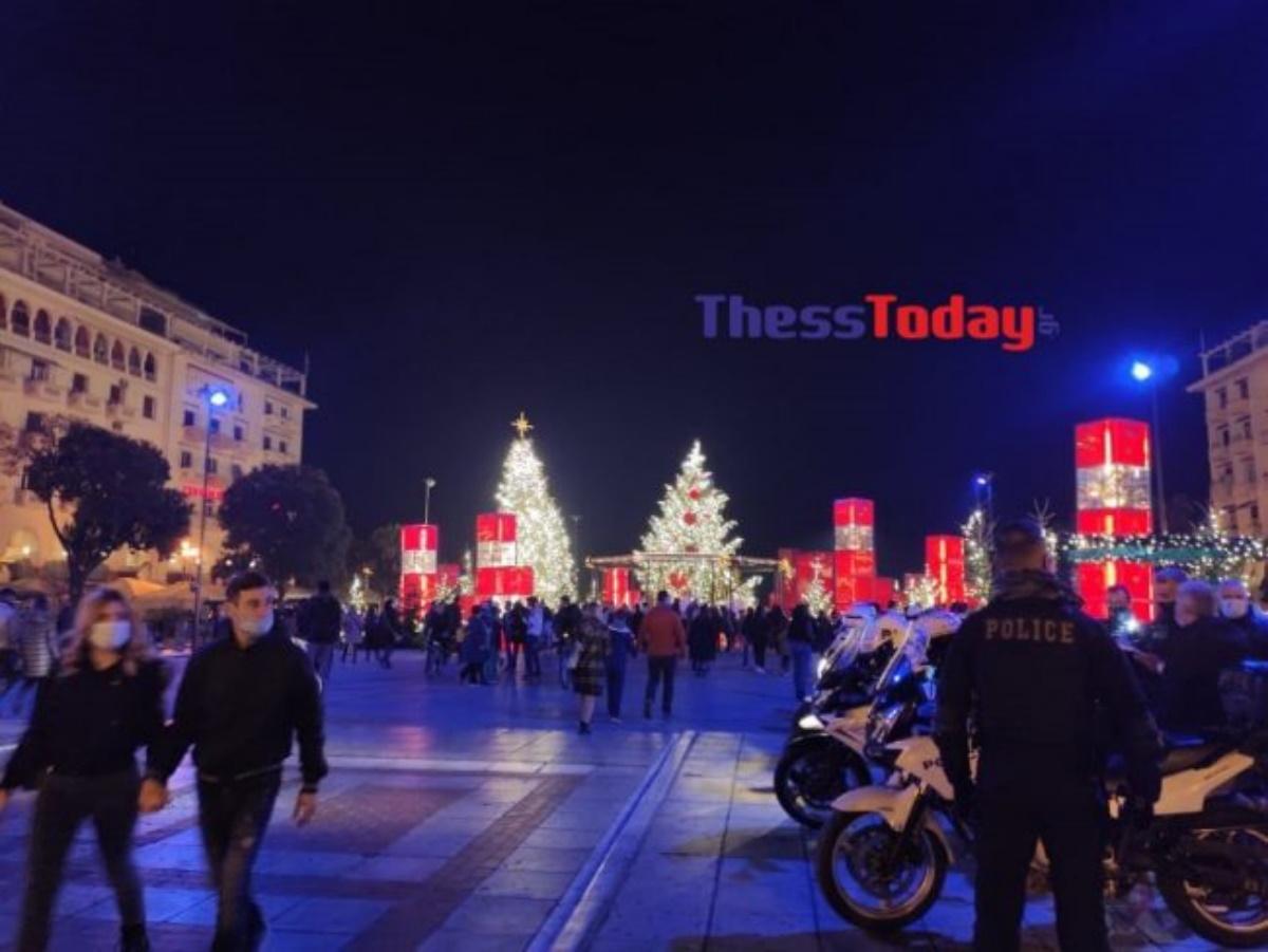 «Mετακίνηση 6» για πολλούς Θεσσαλονικείς ανήμερα τα Χριστούγεννα (pics)