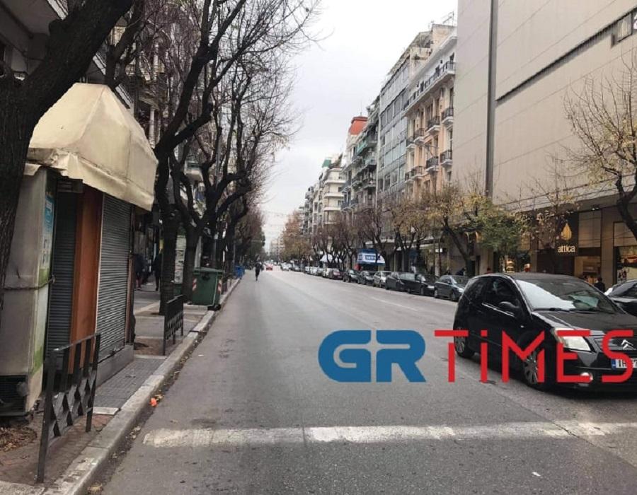 Θεσσαλονίκη: Καταθλιπτική η εικόνα της αγοράς – Σε απόγνωση οι ιδιοκτήτες καταστημάτων (pics)