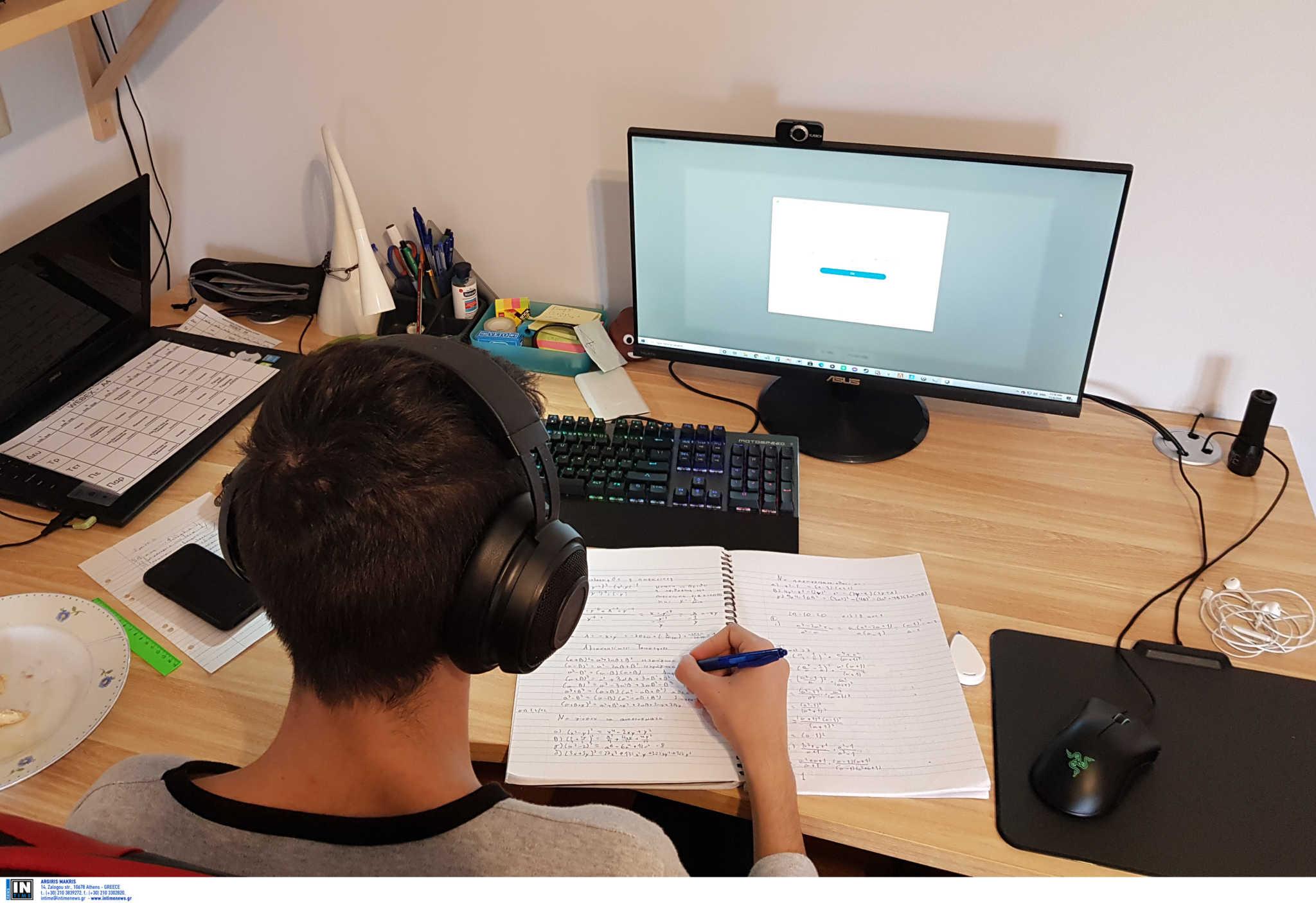 Τηλεκπαίδευση: Πώς θα βαθμολογηθούν οι μαθητές Γυμνασίων και Λυκείων για το Α΄ τετράμηνο