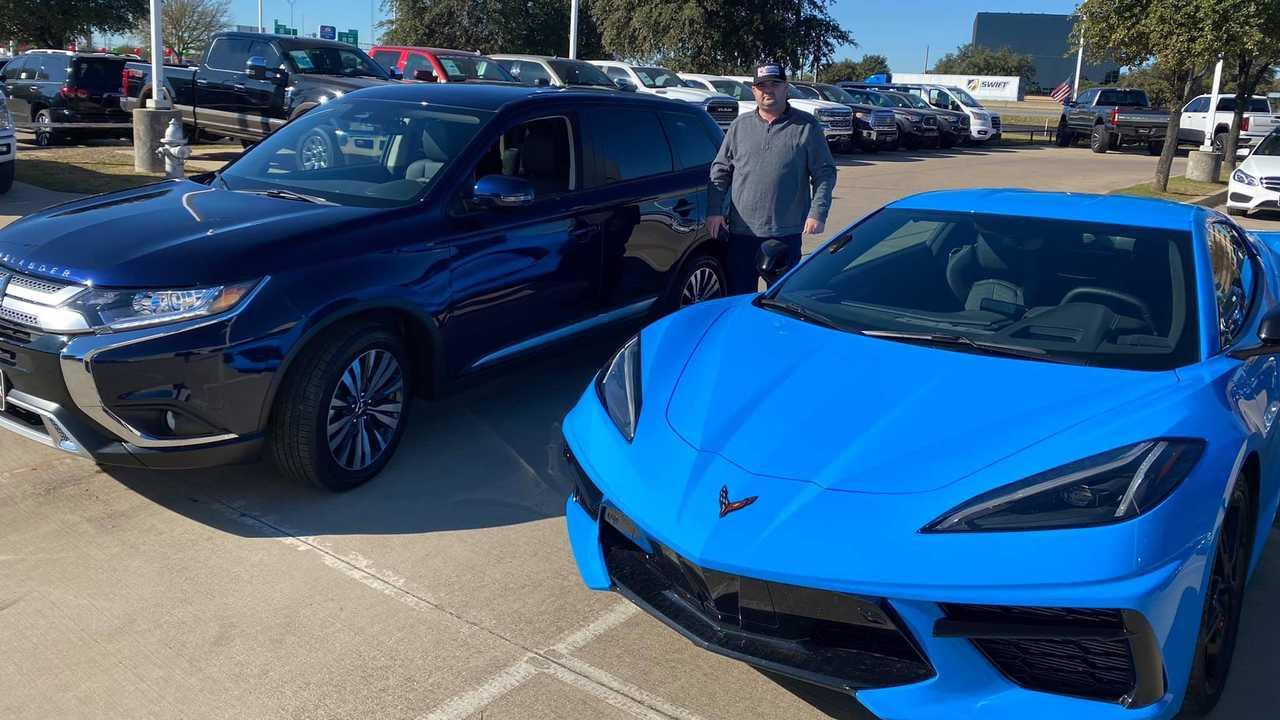 Εδωσε την Chevrolet Corvette για να πάρει το Mitsubishi Outlander