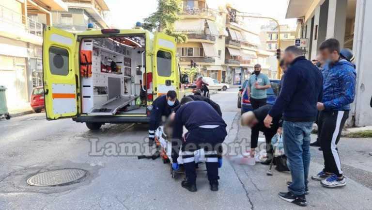 Λαμία: Ντελιβεράς παρέσυρε γιαγιά τραυματίζοντάς την σοβαρά (pics)