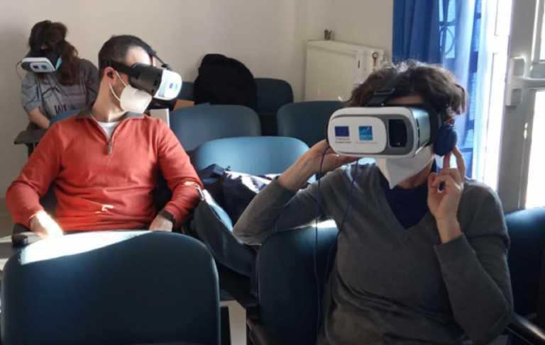 Θεσσαλονίκη: Γιατροί και νοσηλευτές εκπαιδεύτηκαν με τη χρήση εικονικής πραγματικότητας (pics)