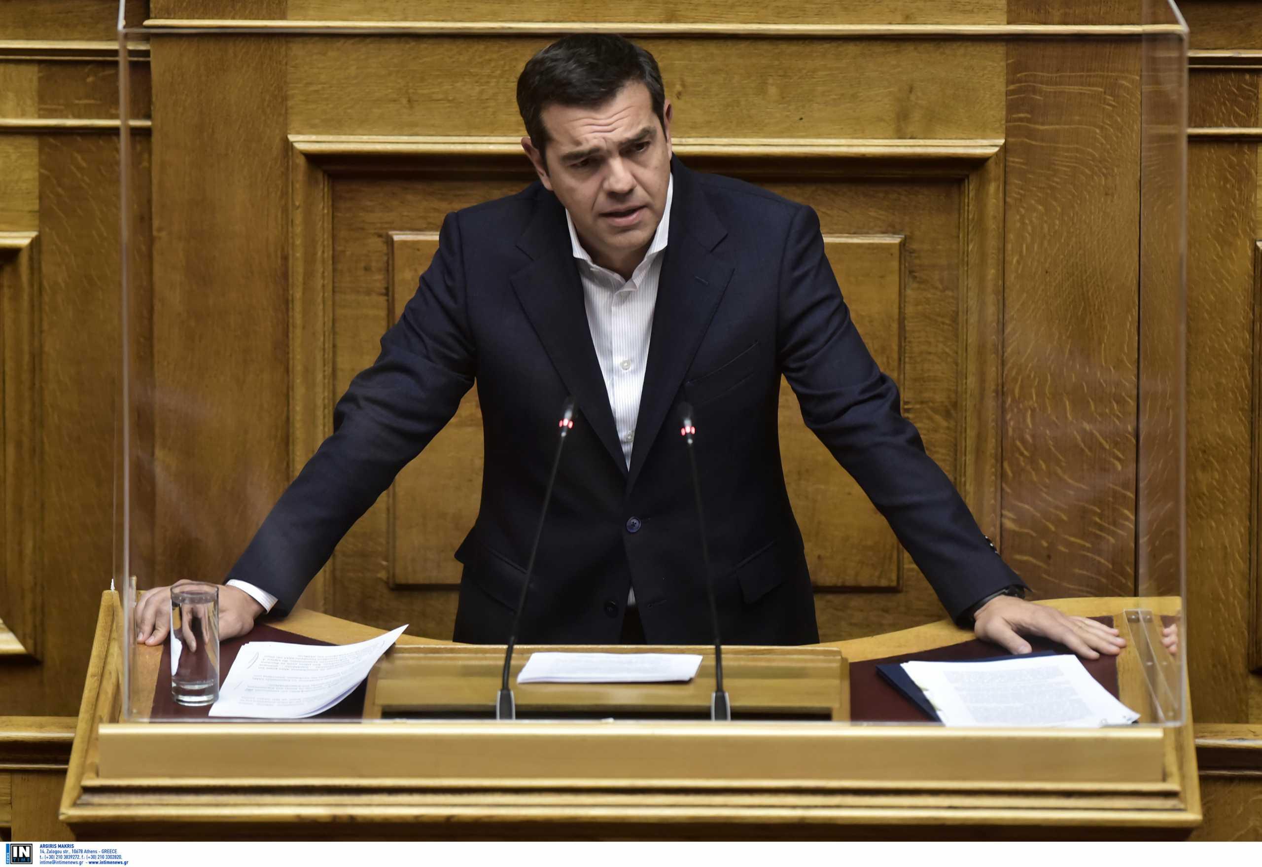 Βουλή – πανδημία: Η ομιλία του Αλέξη Τσίπρα