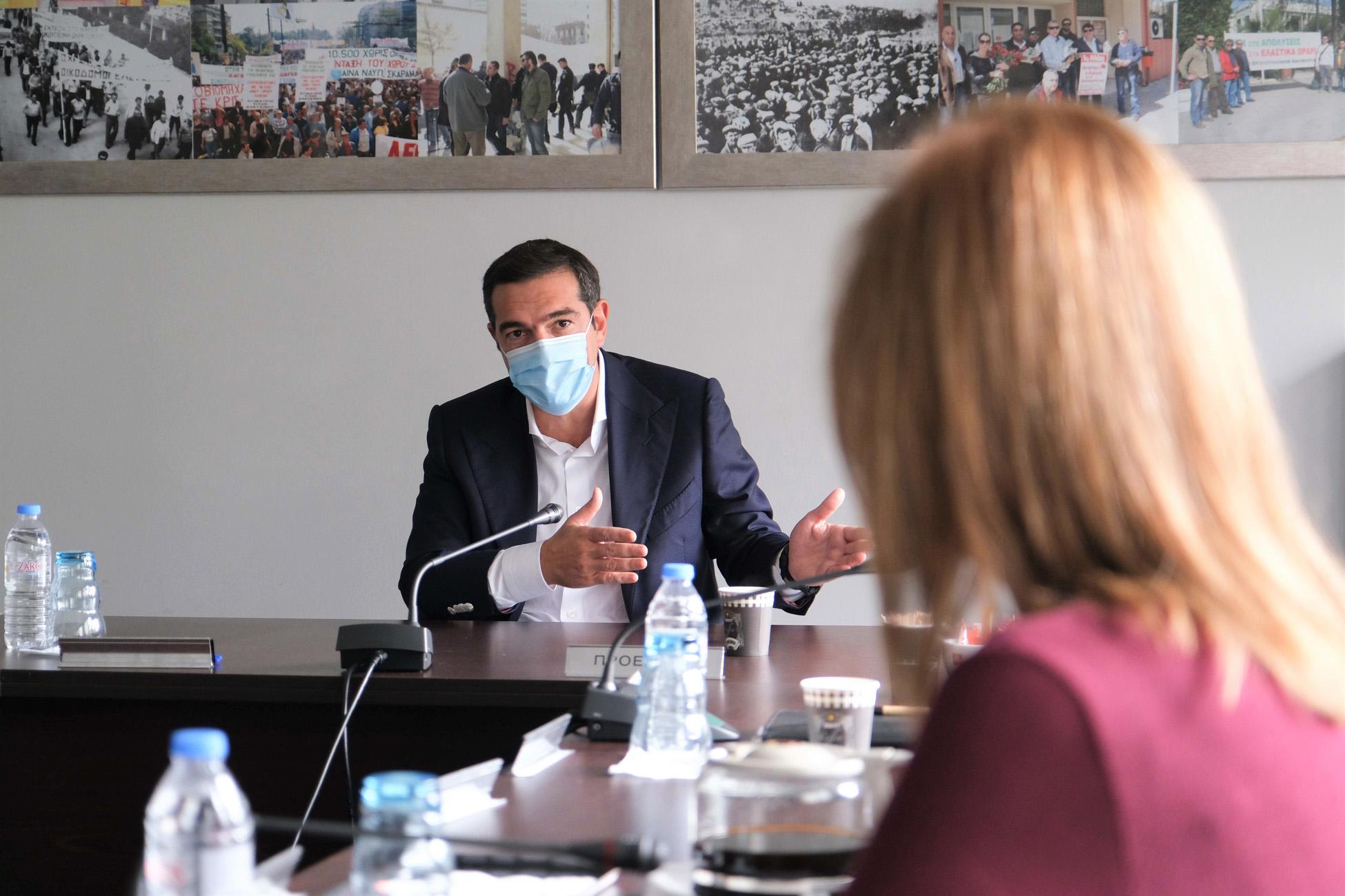 Τσίπρας: Εγκληματική αδιαφορία και διαχειριστική ανικανότητα της κυβέρνησης στην πανδημία