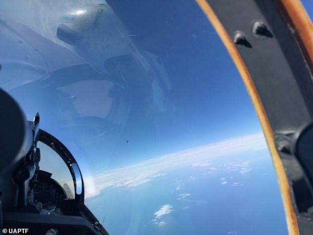 Δέος από διαρροή φωτογραφίας από το Πεντάγωνο! UFO το άγνωστο αντικείμενο πάνω από τον Ατλαντικό;
