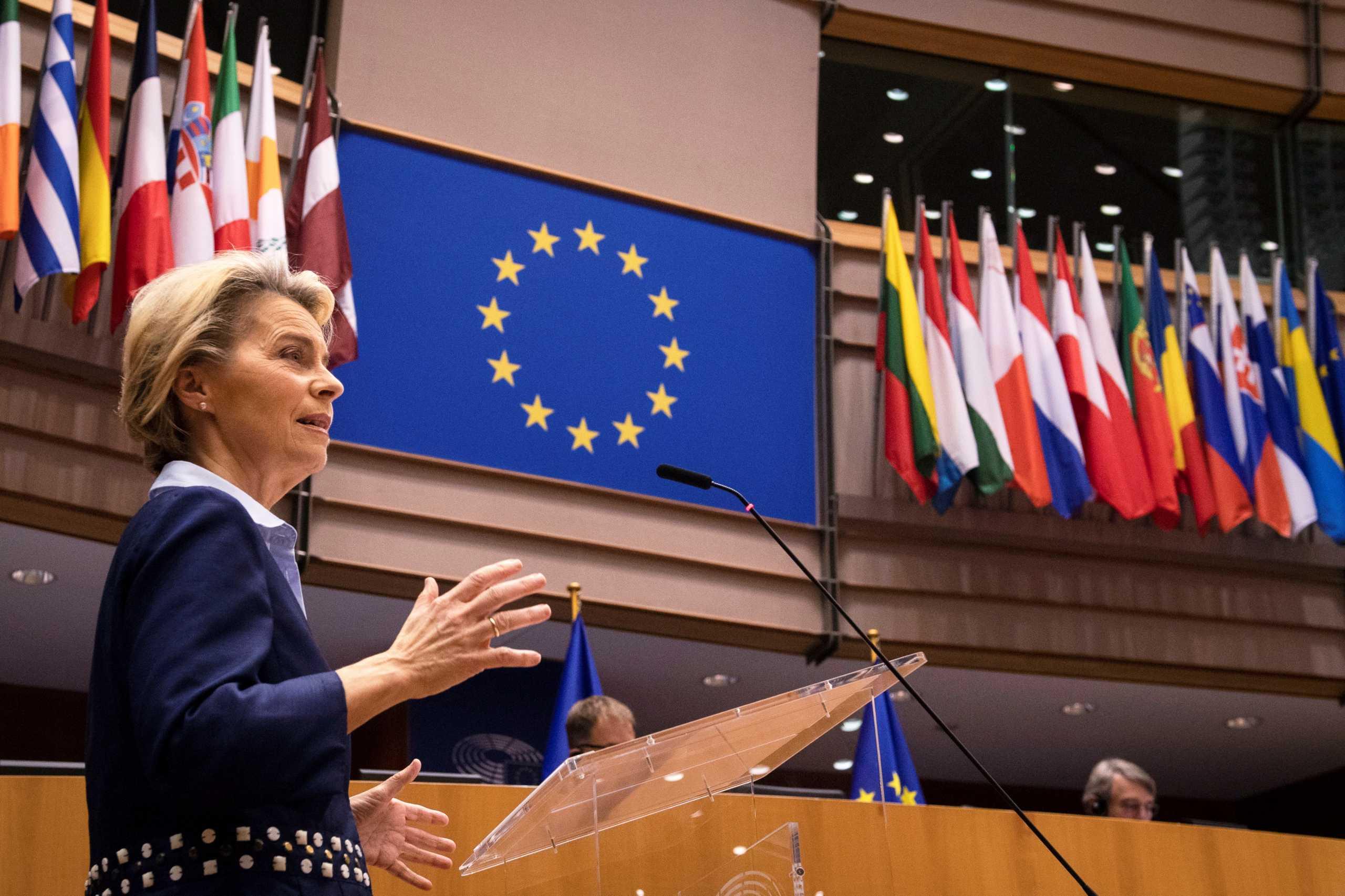 Tweet φον ντερ Λάιεν για το «Ελλάδα 2.0»