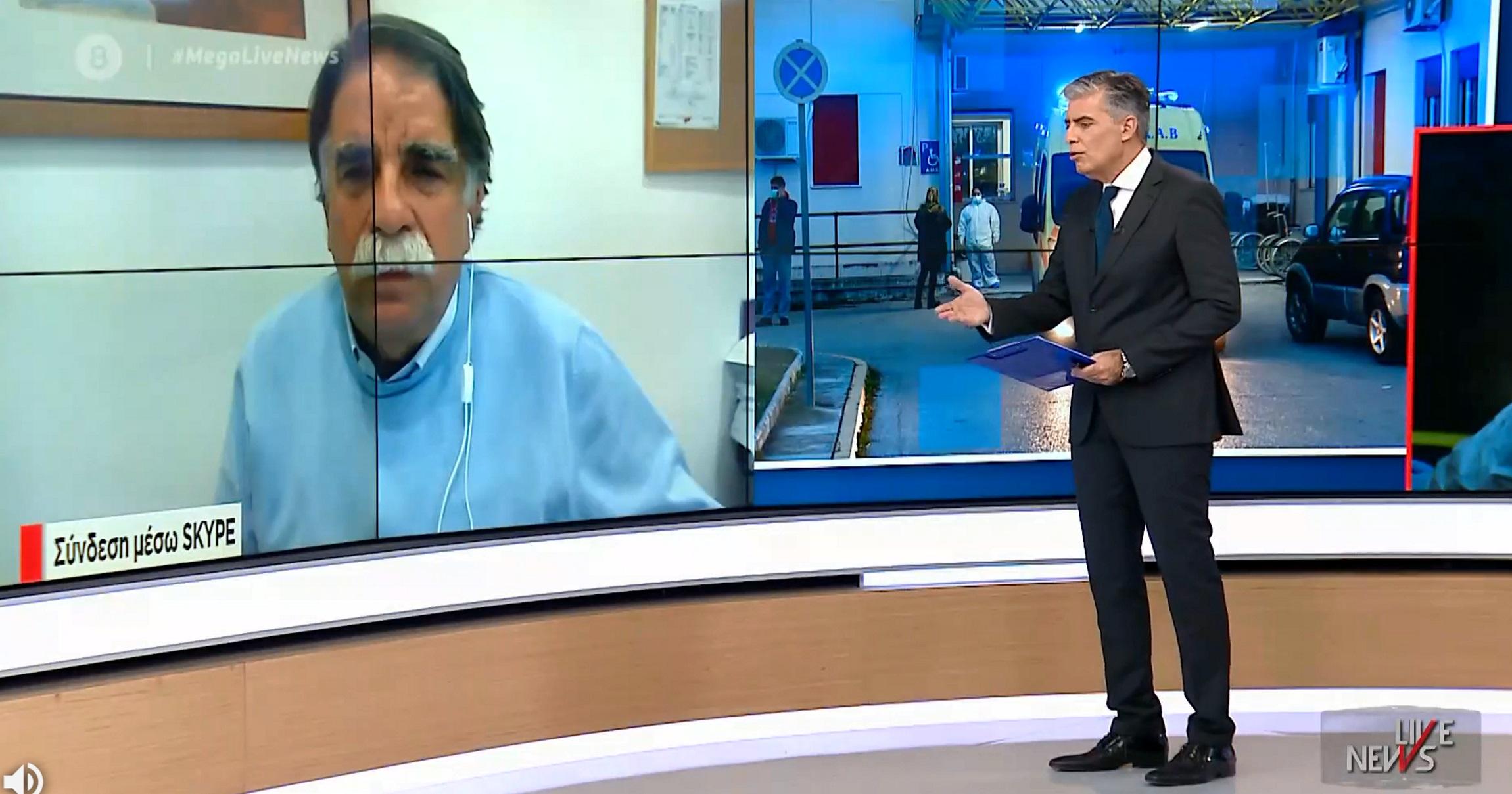 Βατόπουλος στο Live News: Είμαστε σε οριακή κατάσταση – Να μην αυξηθεί η κινητικότητα