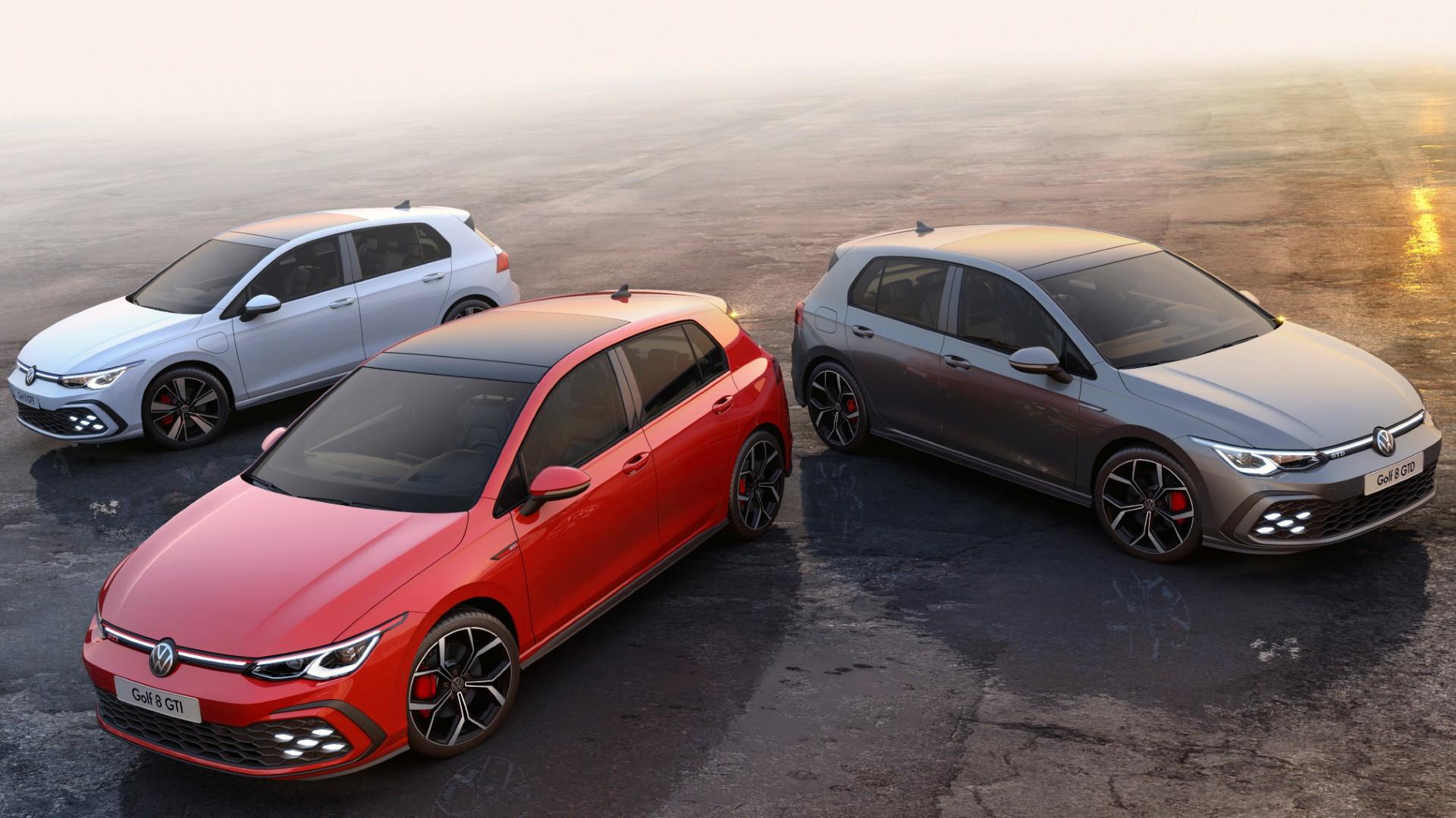 Οι τιμές των νέων VW Golf GTI, GTI Clubsport, GTD, eHybrid και GTE