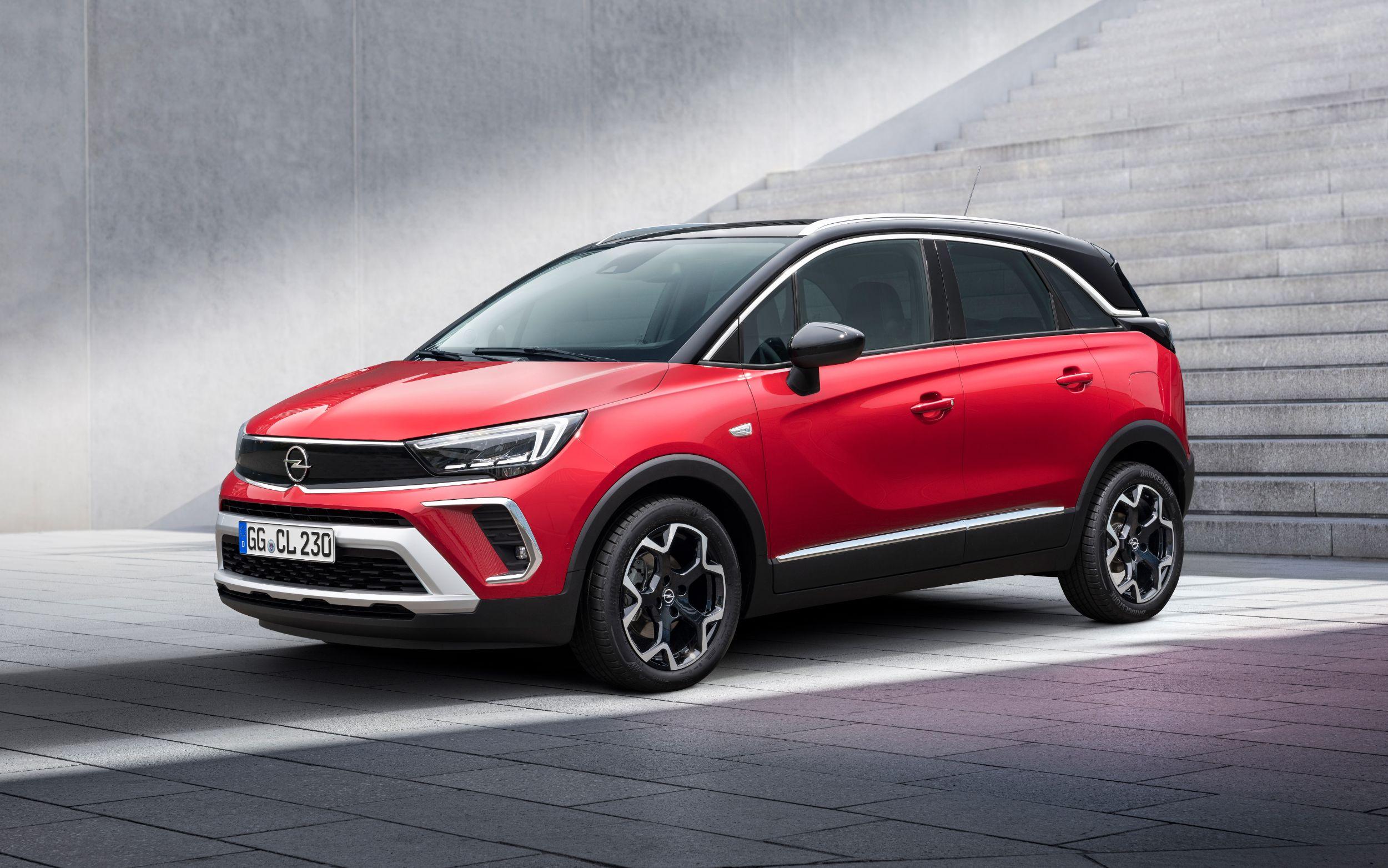 Οι τιμές του ανανεωμένου Opel Crossland