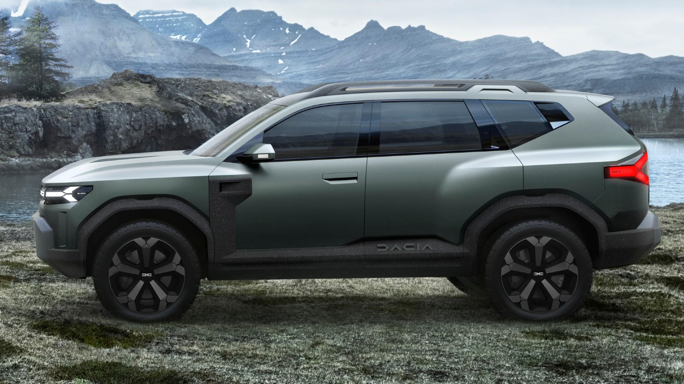 Bigster: Το νέο προσιτό και σκληροτράχηλο SUV της Dacia [vid]