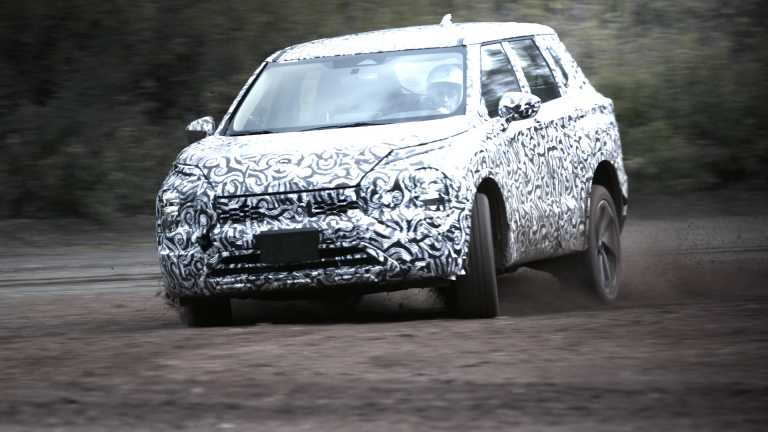 Το Mitsubishi Outlander σε τελική φάση δοκιμών [vid]