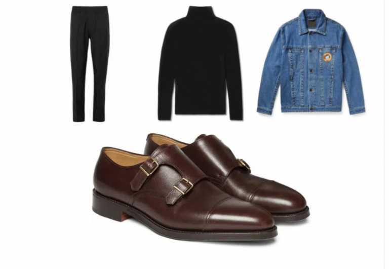 8 τρόποι να συνδυάσετε το μαύρο σας παντελόνι με καφέ παπούτσια