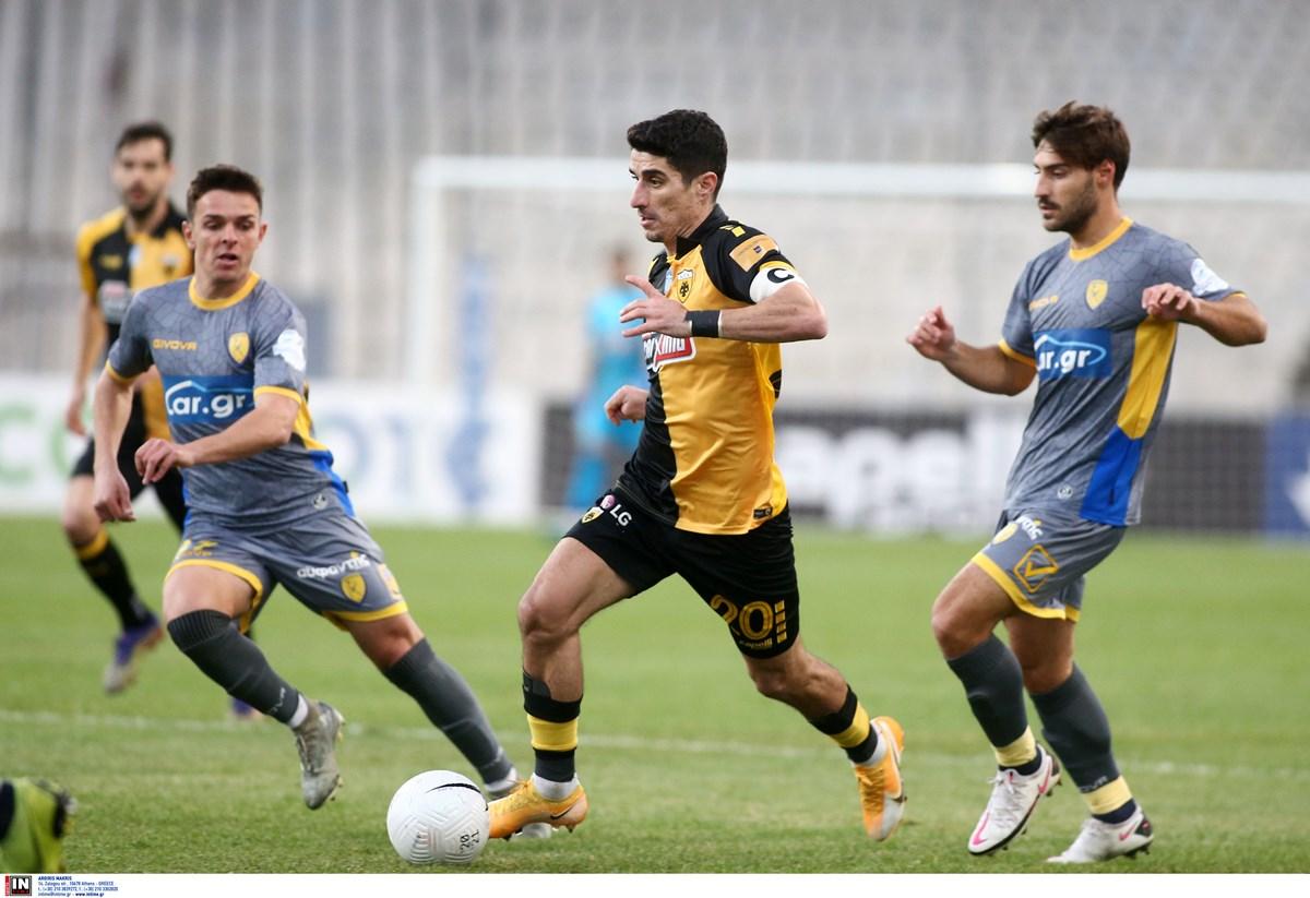 ΑΕΚ – Παναιτωλικός 1-0 ΤΕΛΙΚΟ