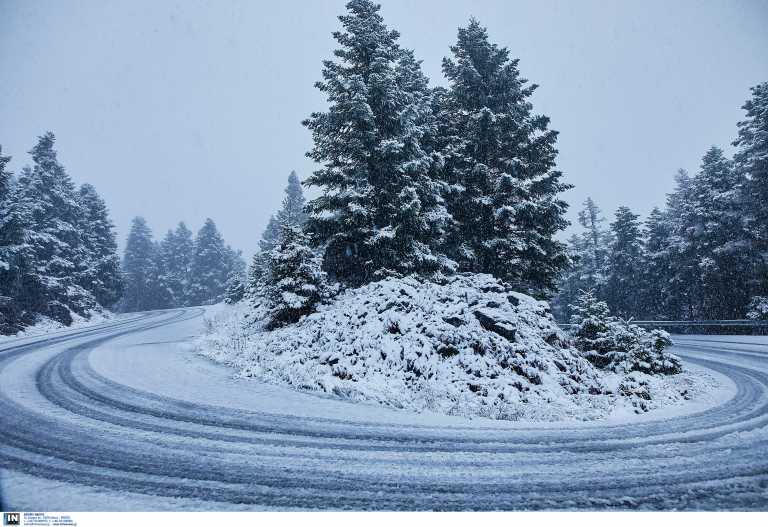 Καιρός – Αρκαδία: Σε αυτές τις περιοχές χρειάζονται αλυσίδες