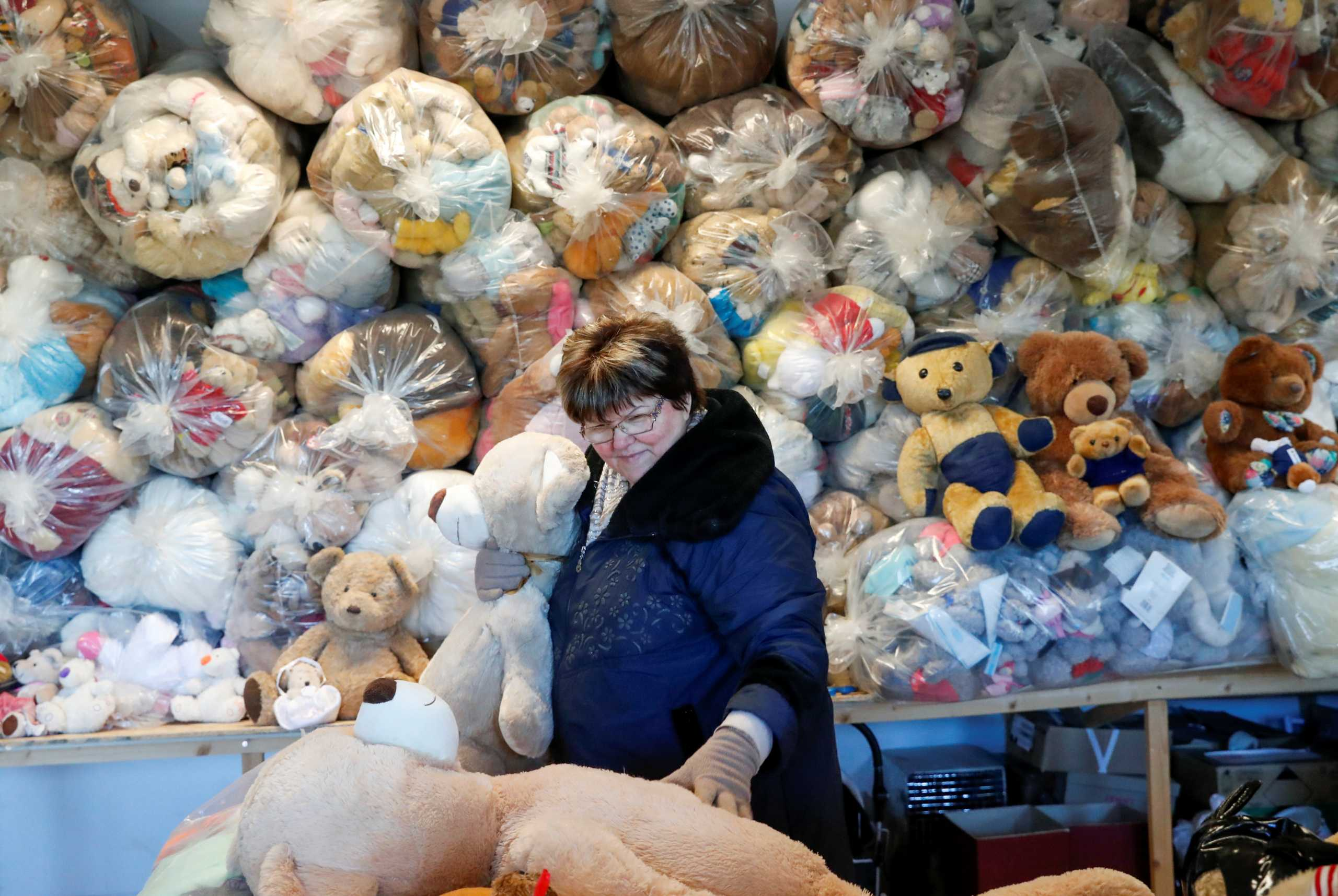 Ουγγαρία: 20.000 λούτρινα αρκουδάκια «περιμένουν» να τελειώσει το lockdown (pics)