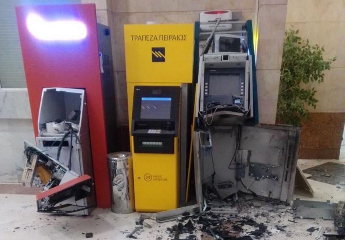 Γιατί οι ληστές ανατίναξαν τα 2 από τα 3 ΑΤΜ στο εμπορικό κέντρο του Αμαρουσίου (pic)