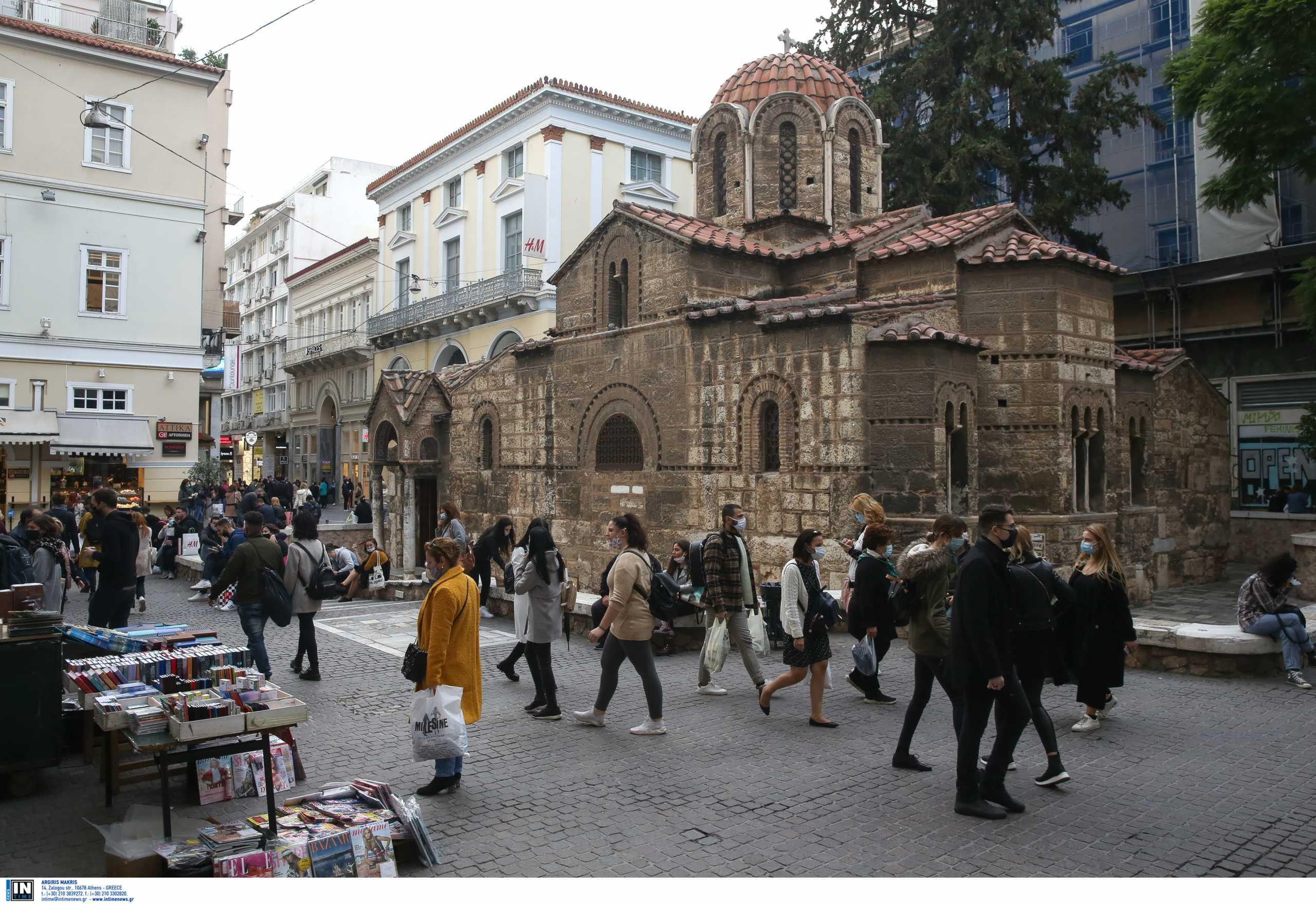 Αττική: «Κόλαση» το κέντρο της Αθήνας – Πού εντοπίστηκαν τα 652 νέα κρούσματα κορονοϊού