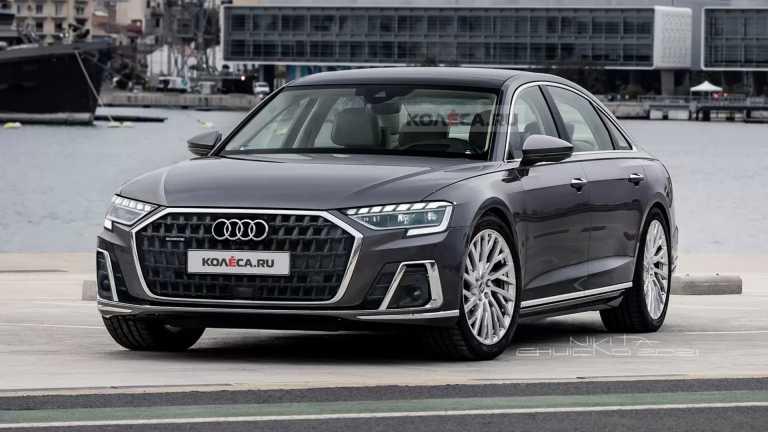 Audi A8: Επικείμενη ανανέωση για τη γερμανική λιμουζίνα