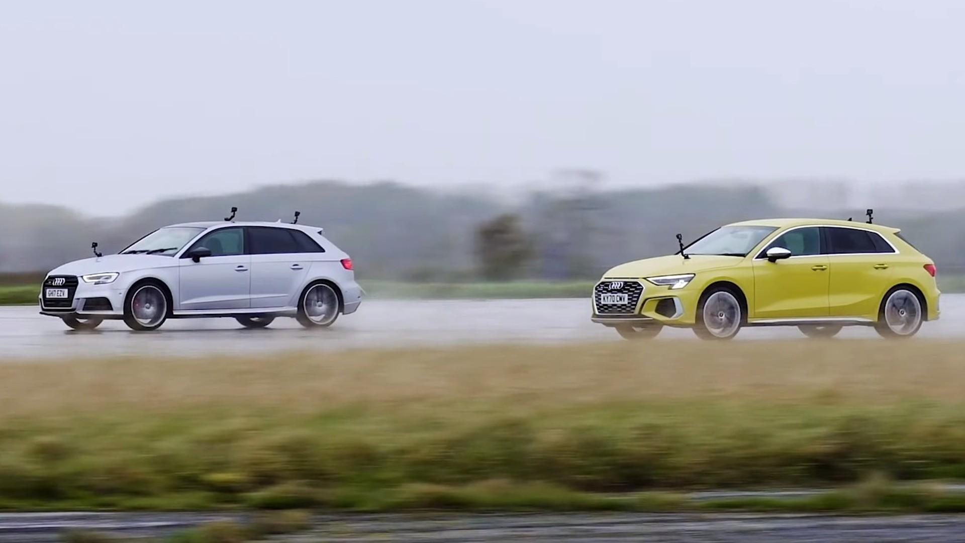 Το νέο Audi S3 Sportback αντιμέτωπο με την προηγούμενη γενιά [vid]