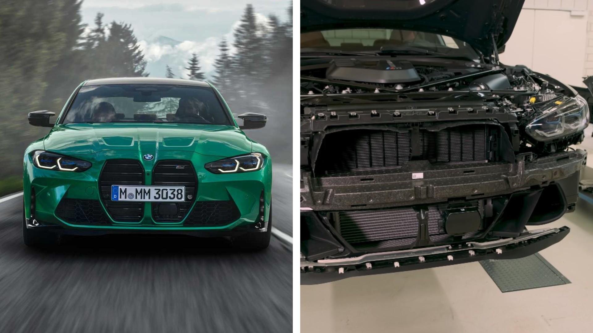 Τι υπάρχει πίσω από τη γρίλια της BMW M3; [vid]