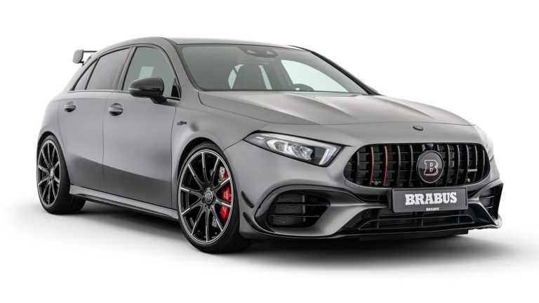 Η Brabus βελτιώνει την Mercedes-AMG A 45 S [vid]