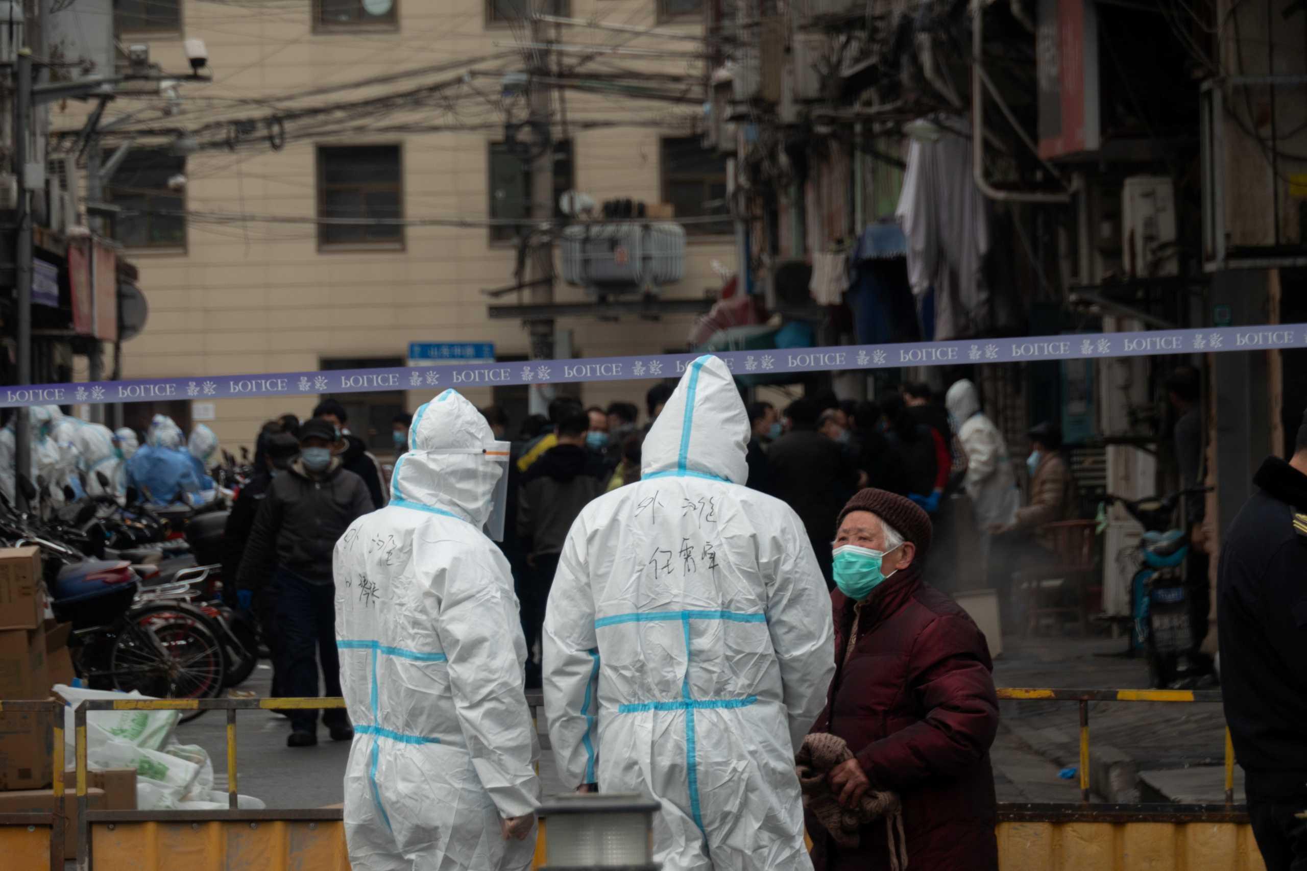 Κίνα – Συναγερμός στην Σανγκάη: Εκκενώθηκε συνοικία μετά τον εντοπισμό κρουσμάτων κορονοϊού