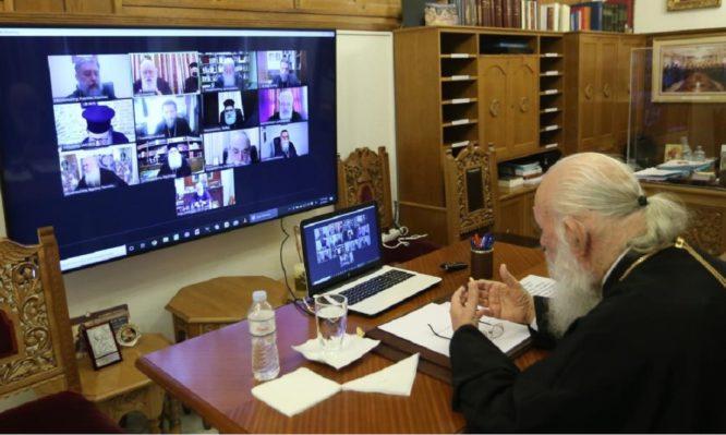 Διαρκής Ιερά Σύνοδος: Καταγγέλλει μεθοδεύσεις τηλεοπτικών σταθμών κατά τον εορτασμό των Θεοφανείων