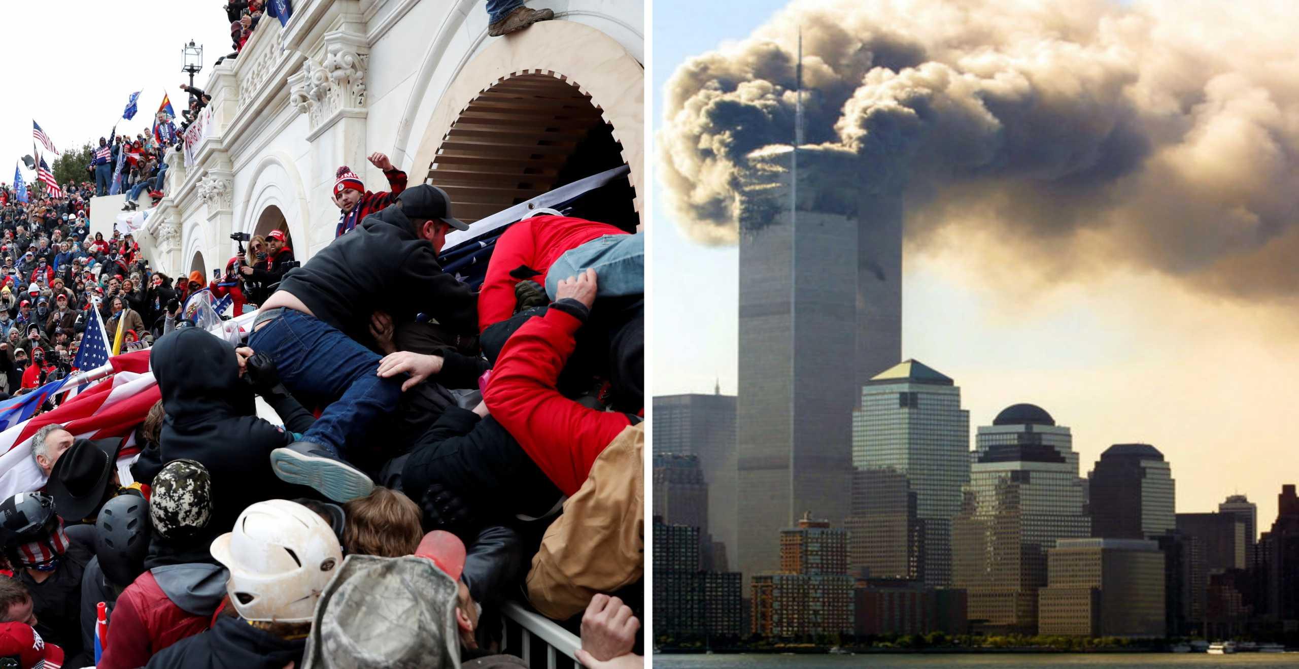 Εισβολή στο Καπιτώλιο όπως 11η Σεπτεμβρίου: Ο παραλληλισμός επιτρόπου της ΕΕ που εκπλήσσει