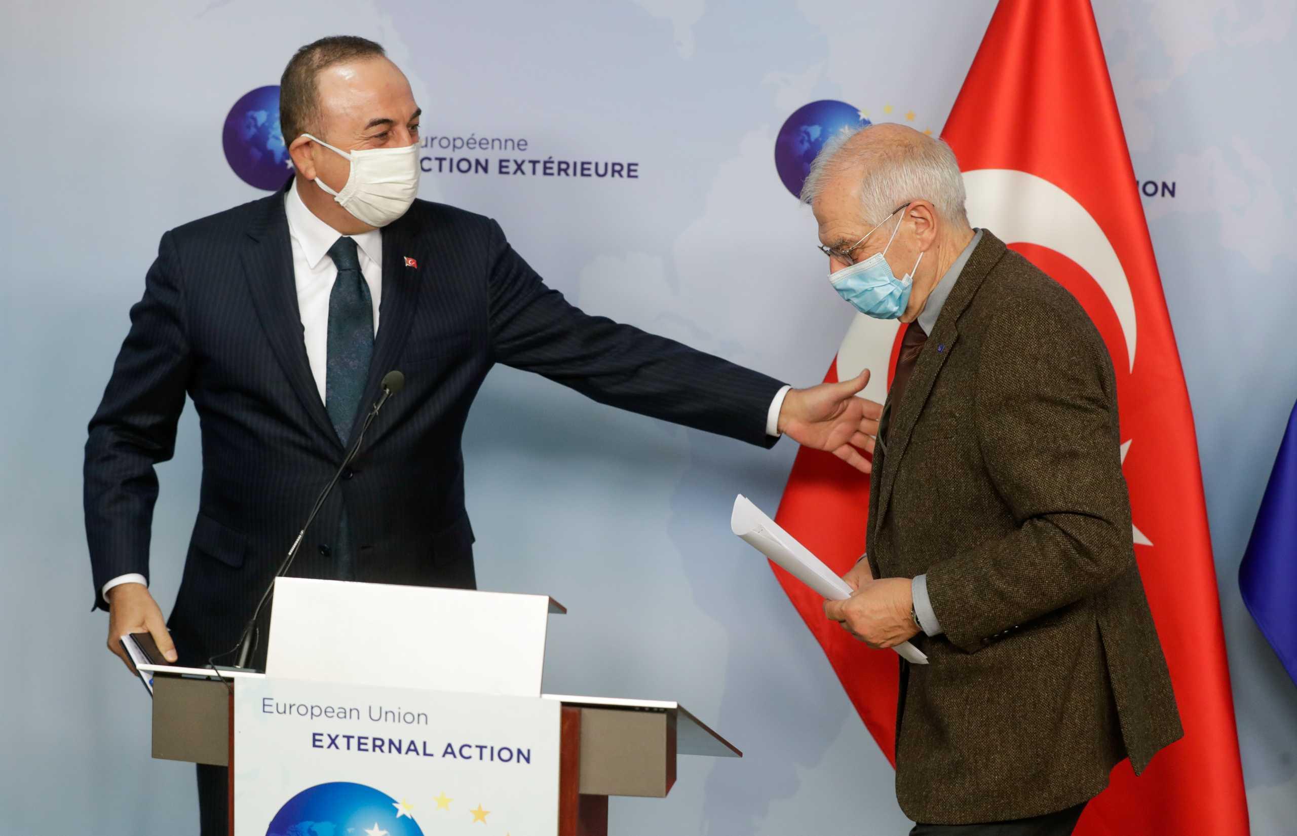 ΕΕ: Μπορέλ και Τσαβούσογλου συζήτησαν τις μελλοντικές εξελίξεις με έμφαση στην Ανατολική Μεσόγειο