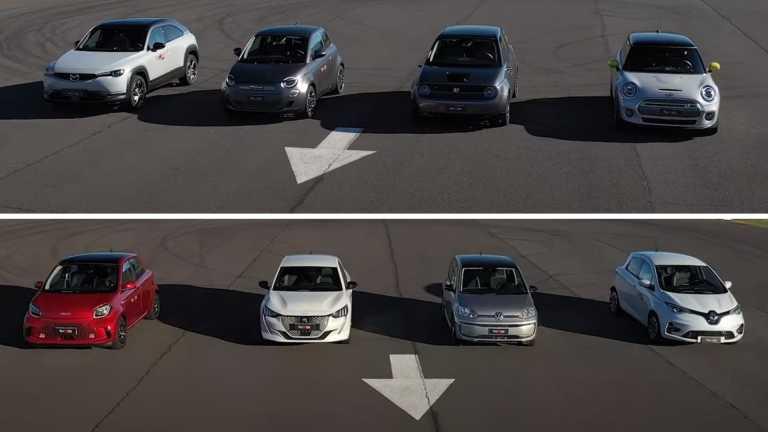 Ποιο μικρό ηλεκτρικό αυτοκίνητο της αγοράς προσφέρει τις καλύτερες επιδόσεις; [vid]