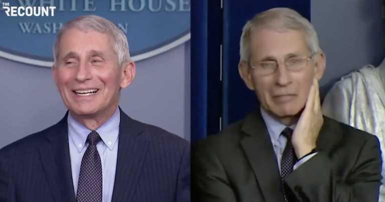 Βίντεο: Φάουτσι με Τραμπ και Φάουτσι με Μπάιντεν