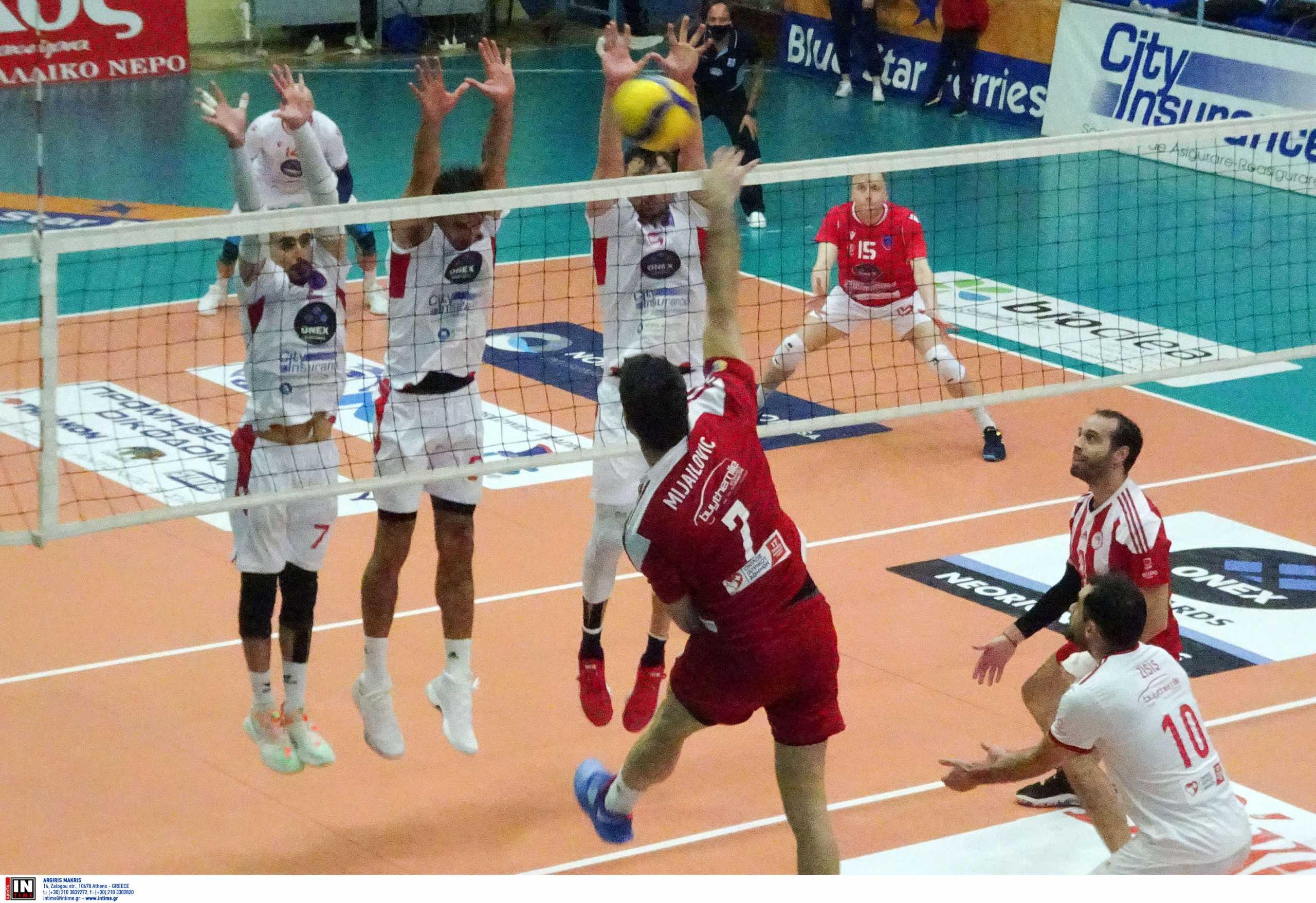 Volley League: Απότομη «προσγείωση» για τον Ολυμπιακό από τον Φοίνικα στη Σύρο (video)