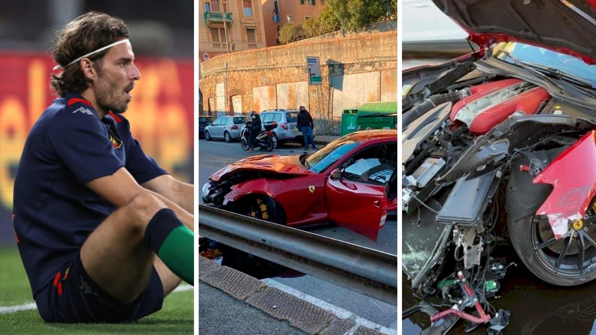 Υπάλληλος πλυντηρίου αυτοκινήτων διέλυσε τη Ferrari του τερματοφύλακα της Γένοβα [vid]