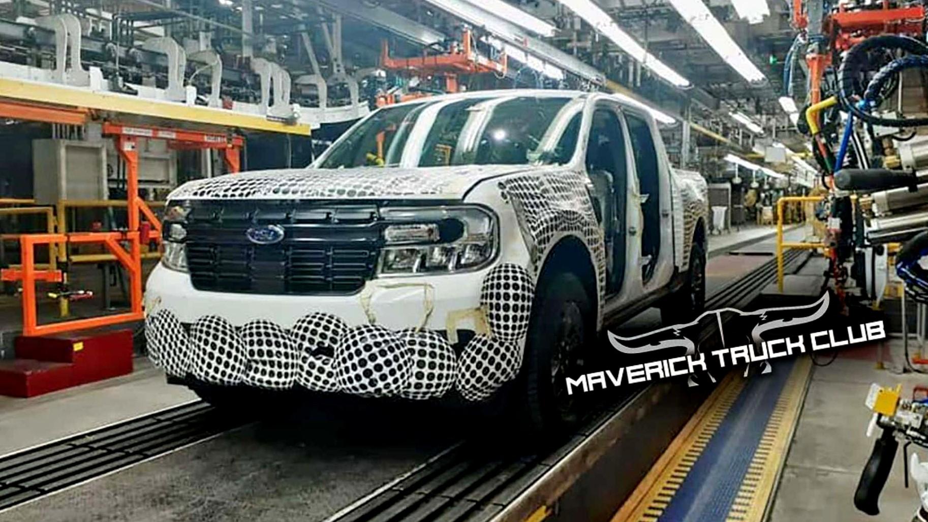 Αυτό είναι το νεό Ford Maverick pick-up