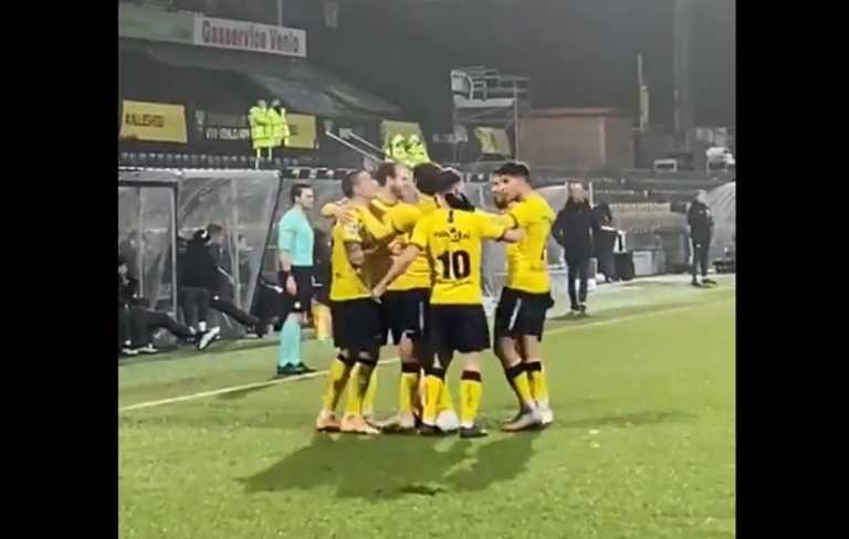 Ο Γιακουμάκης «τρελαίνει» τους Ολλανδούς, τέσσερα γκολ στη Φίτεσε (video)
