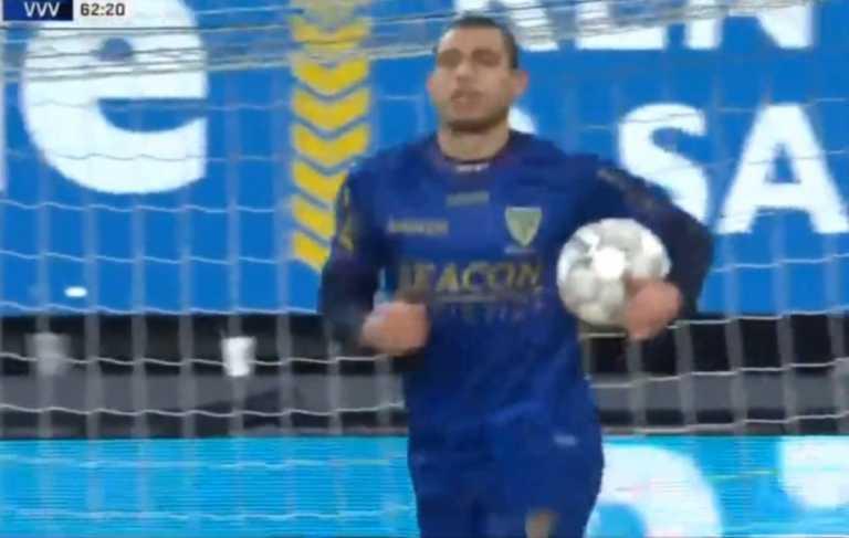 «Πυροβόλησε» ξανά ο Γιακουμάκης, νέο γκολ στην Ολλανδία (video)