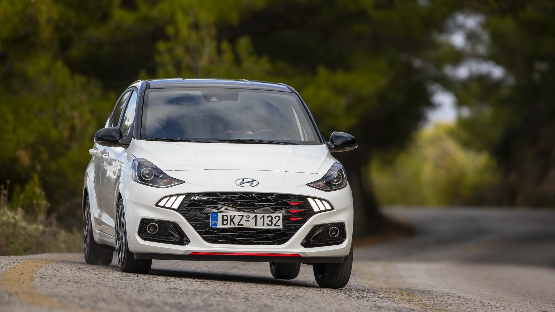 Δοκιμάζουμε το γρήγορο Hyundai i10 των 100 PS [pics]