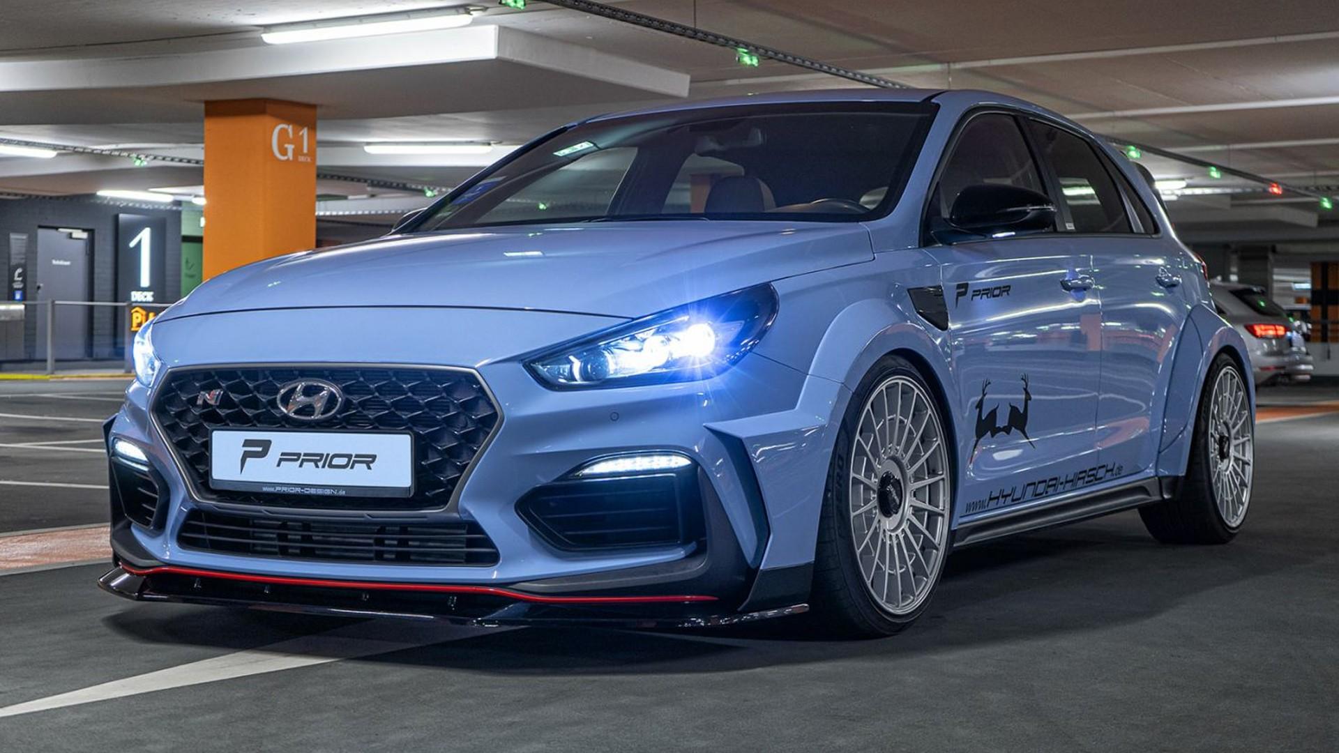Το Hyundai i30 N φορά bodykit της Prior Design