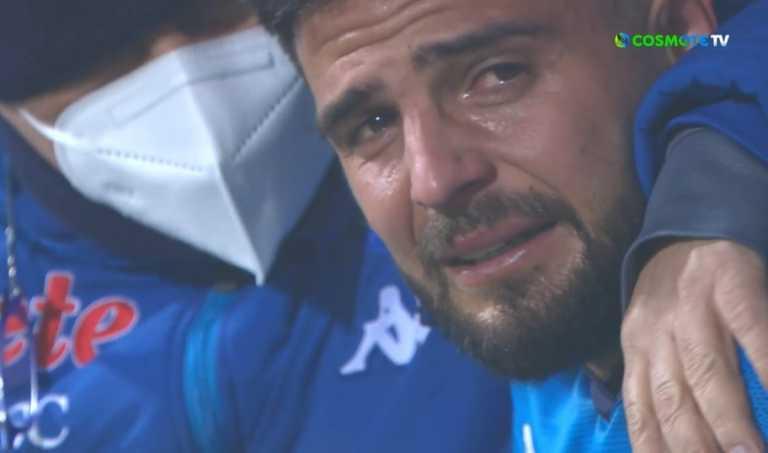 Ράκος ο Ινσίνιε, ξέσπασε σε κλάματα μετά το Γιουβέντους – Νάπολι (video)