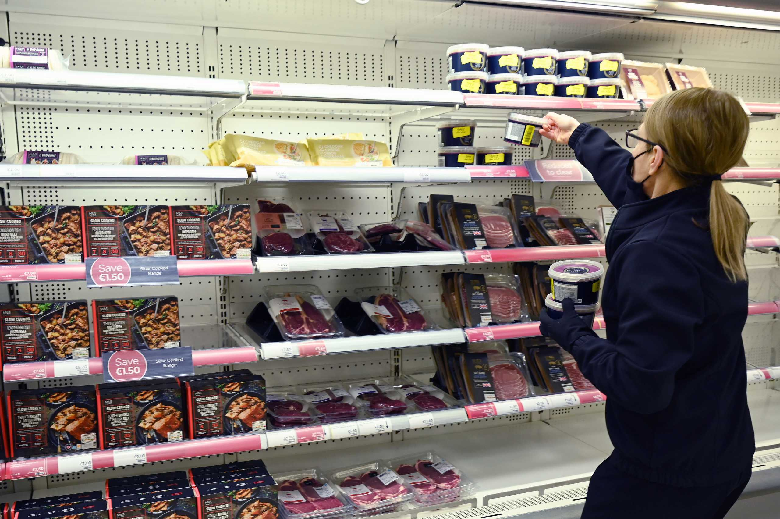 Brexit: Τεράστιο πρόβλημα με την τροφοδοσία των σούπερ μάρκετ στη Βόρεια Ιρλανδία