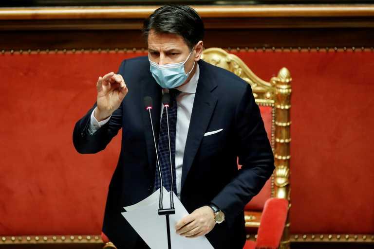 Ιταλία: Αρχίζει τις διαβουλεύσεις ο Πρόεδρος της Δημοκρατίας – Νέα ομάδα στήριξης Κόντε στη Γερουσία