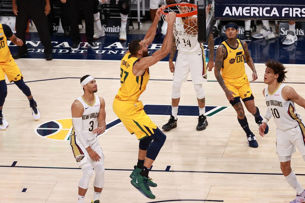 NBA: «Τρένο» οι Τζαζ, ηγετική εμφάνιση από Γιόκιτς για Νάγκετς (video)