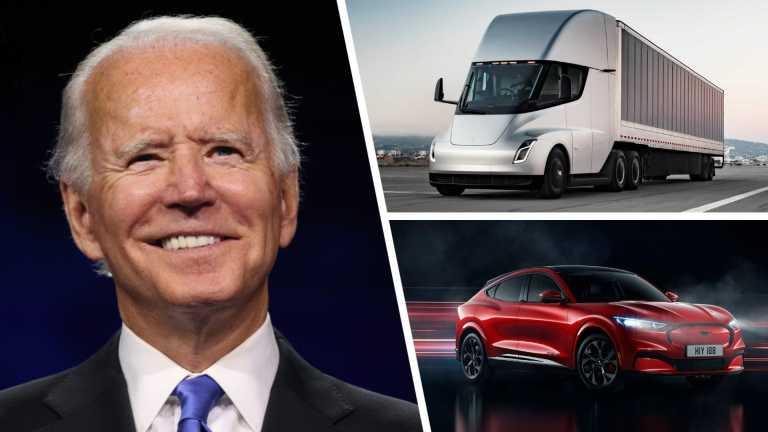 Joe Biden: Αντικατάσταση του κυβερνητικού στόλου οχημάτων με ηλεκτρικά