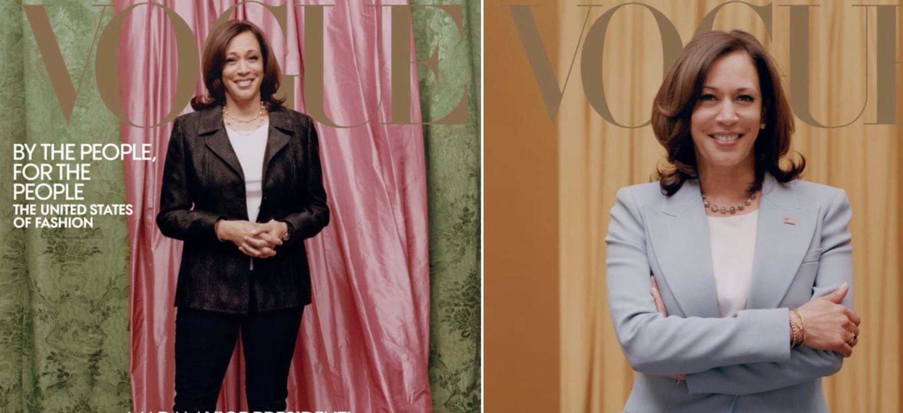 Η Anna Wintour της Vogue απαντά για το εξώφυλλο της Κάμαλα Χάρις