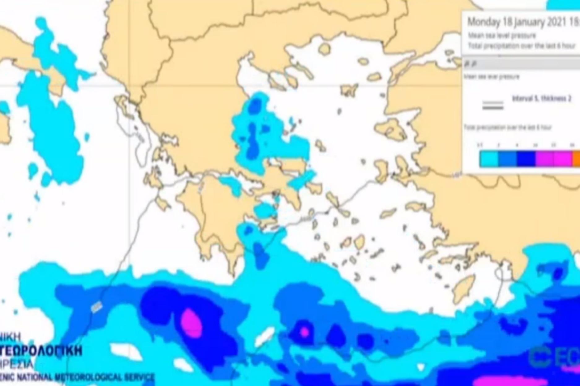 Καιρός – Κολυδάς: Προσοχή σε αυτές τις περιοχές – Που θα χιονίσει