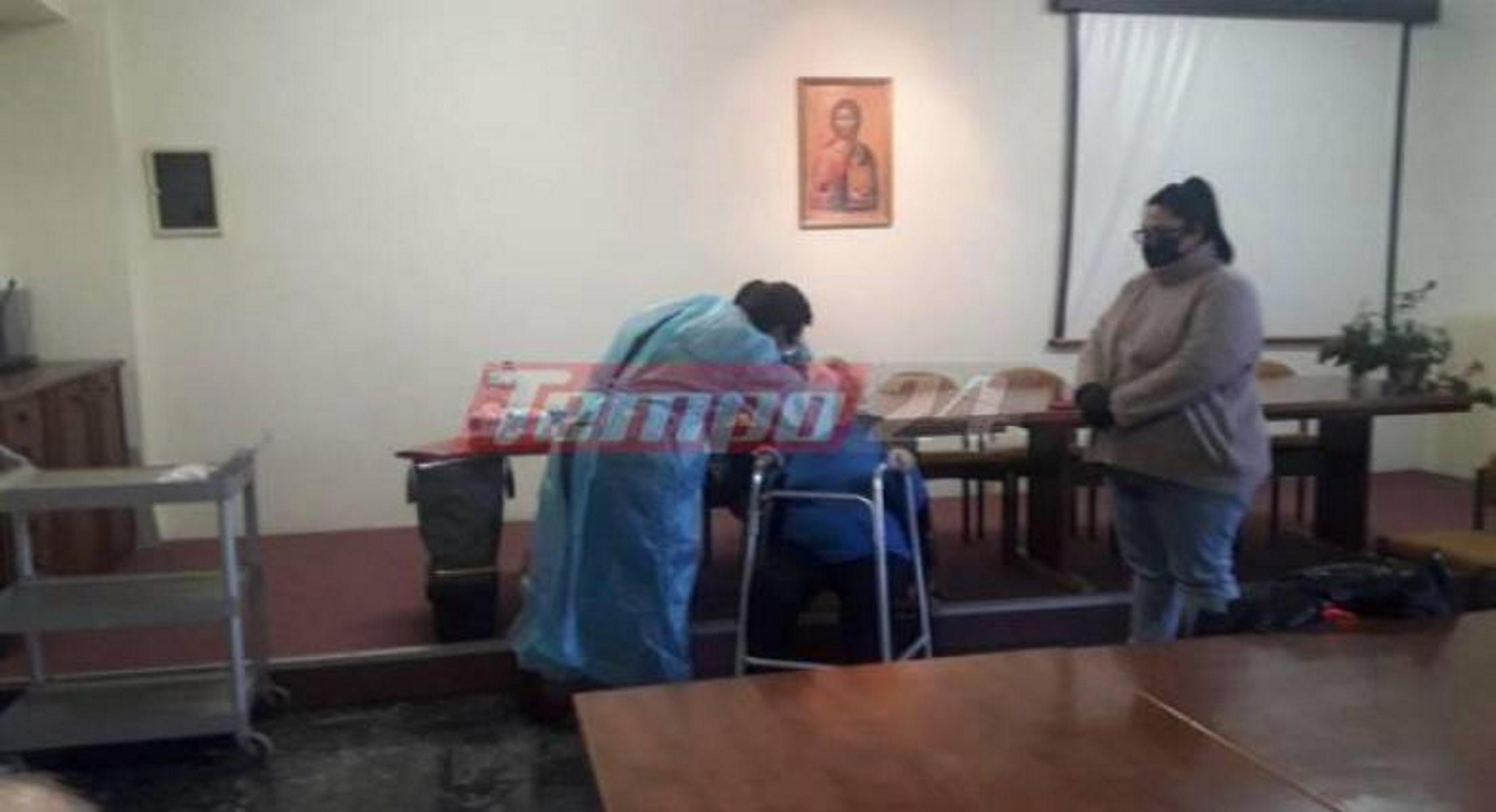 Καλάβρυτα: Rapid tests στο γηροκομείο μετά τη συρροή κρουσμάτων κορονοϊού (pics)