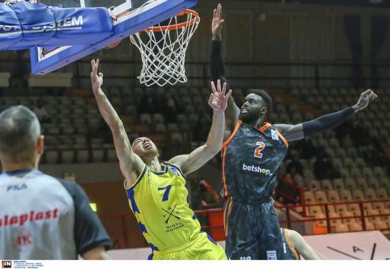 Basket League: Με σπασμένα φρένα το Λαύριο που «βλέπει» τετράδα (video)