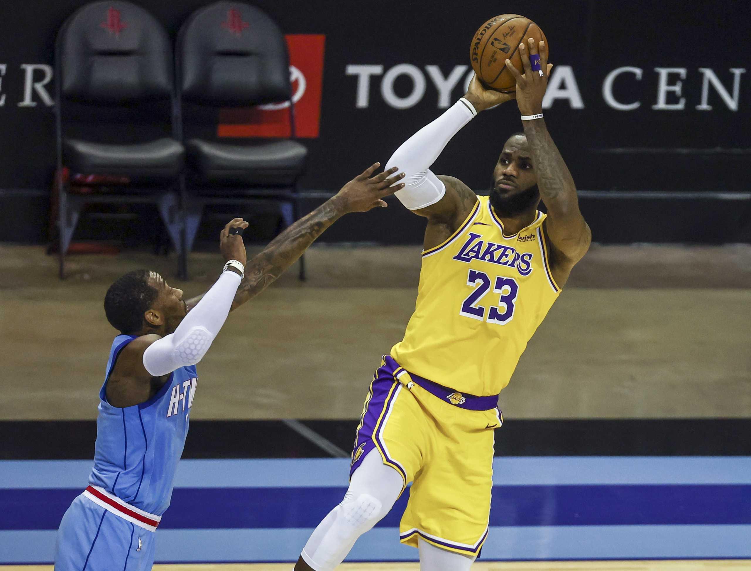 NBA: Οι Λέικερς έκαναν το 2/2 με τους Ρόκετς, με «45άρι» ο Έμπιντ εκτέλεσε τους Χιτ (videos)